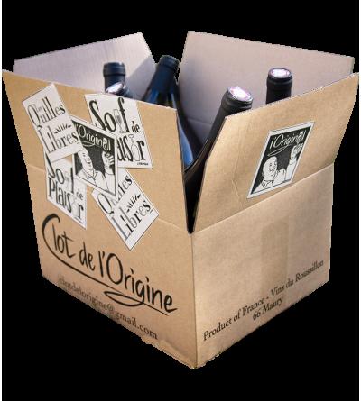 Pack Les Doux - Clot de l'Origine - Marc et Caroline BARRIOT Maury