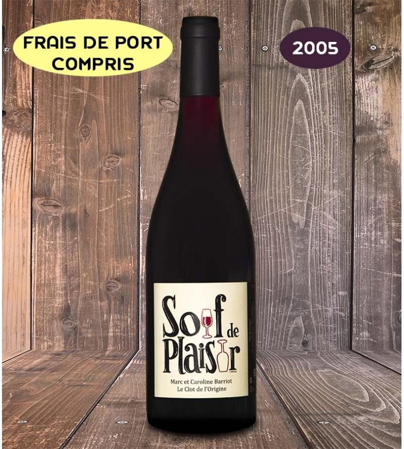 Soif de plaisir Millésime 2005 - Clot de l'Origine - Marc et Caroline BARRIOT Maury